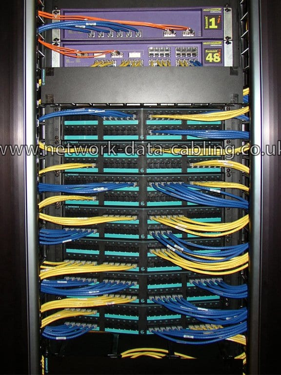 Computer cabling service by ACCL