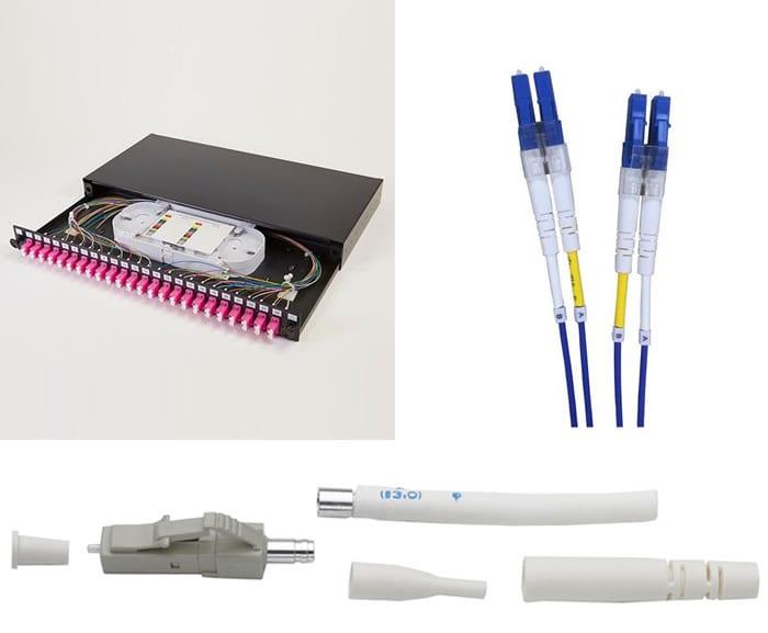 LC Fibre Optic Connectors