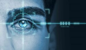 Iris recognition access control
