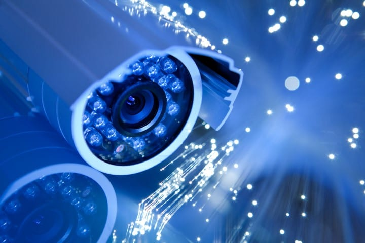 Maintenance of CCTV optical components