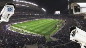 Stadium CCTV cameras