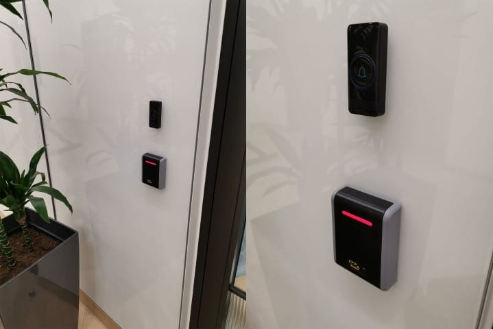 Access control installation