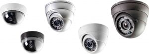 Dome camera ceiling installation