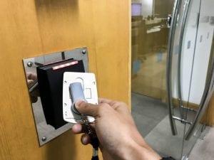 Access control key fob