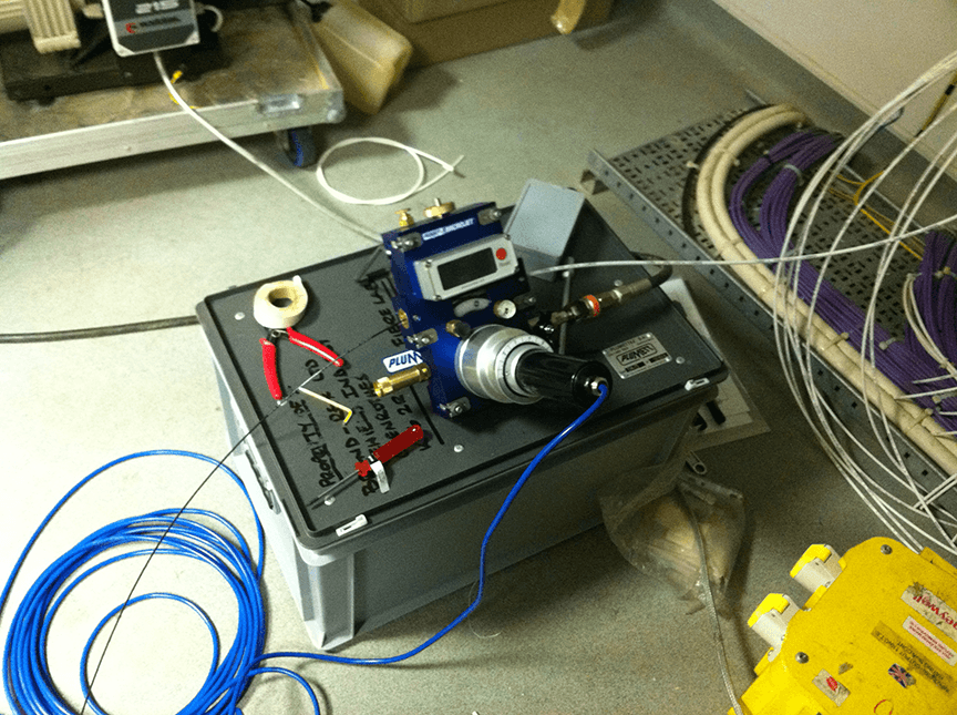 Air blown fibre installation service