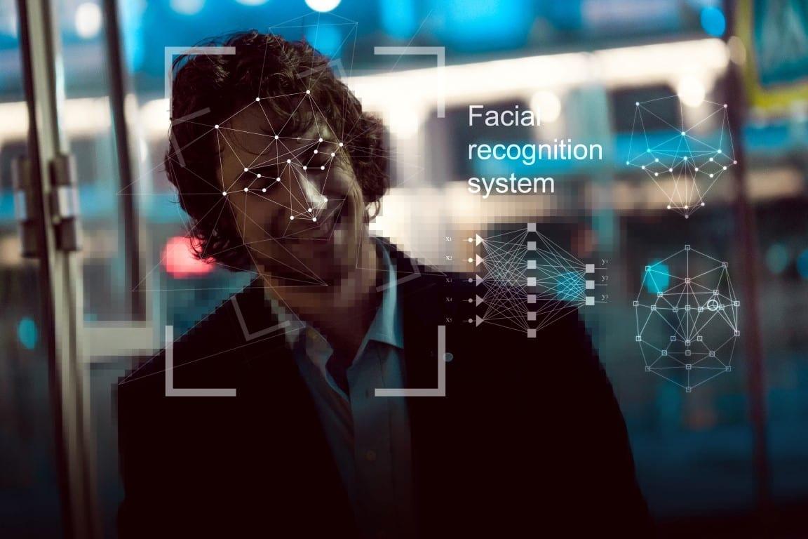 CCTV facial recognition feature