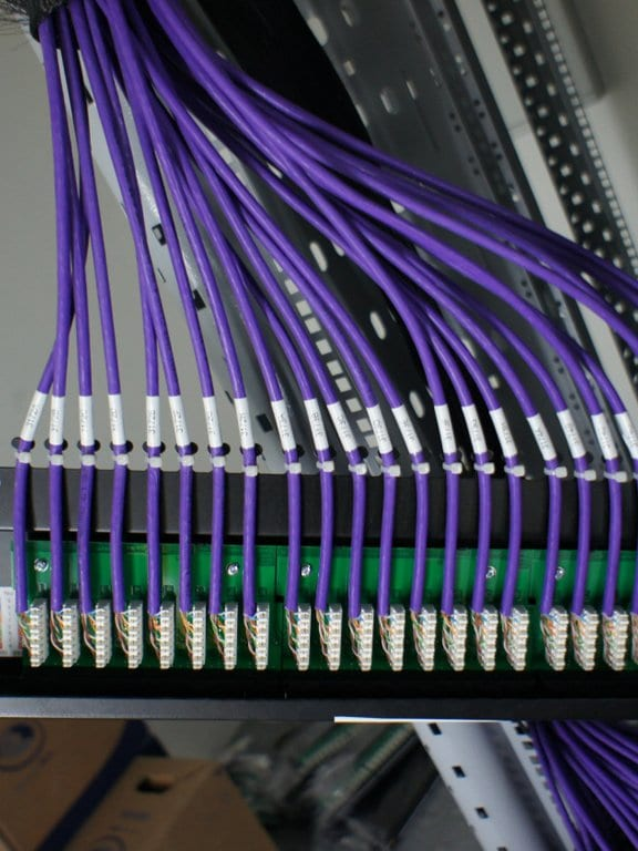 Cabling installation service delivered by ACCL