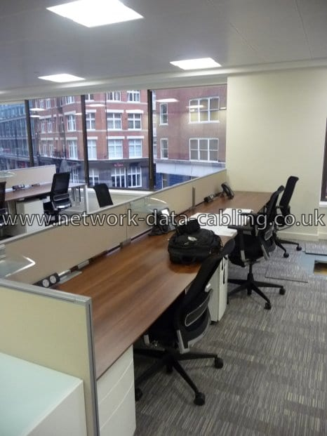 Office Cabling London