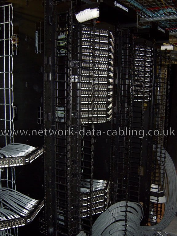 Installation of Cat7 cables