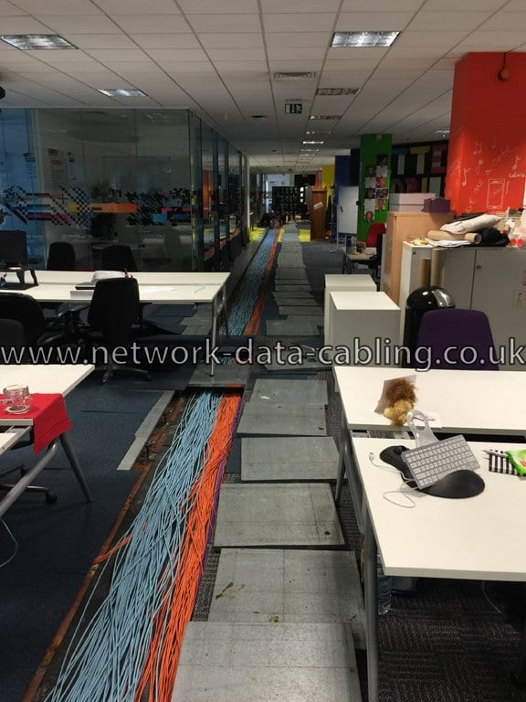 Copper10 cabling installation provided by ACCL