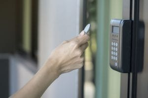 Door-access-control-key-fob