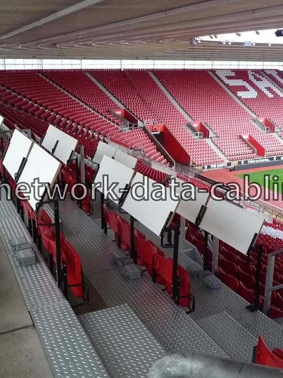 External Data Cabling Pitch Side