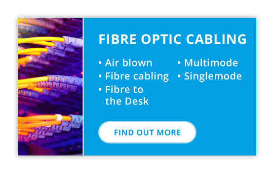 Fibre optic cabling installation