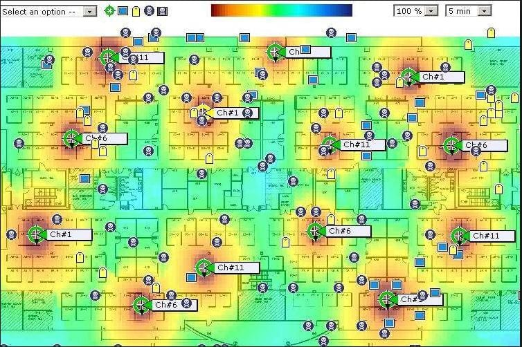 Wifi Survey Heatmap
