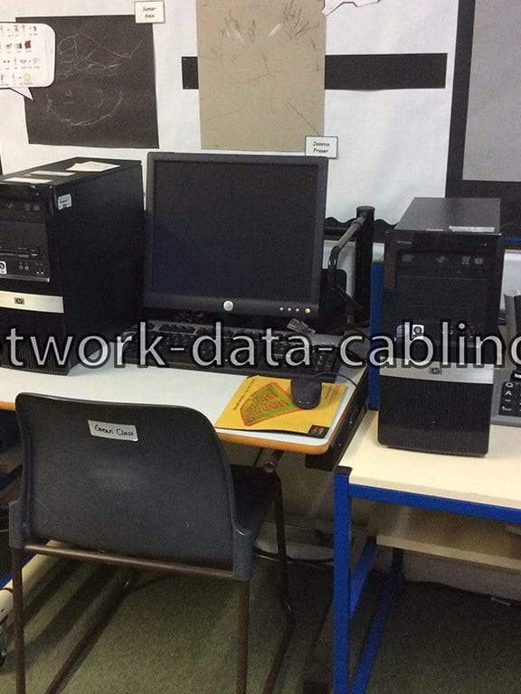 CT cabling installation-service delivered to primary school