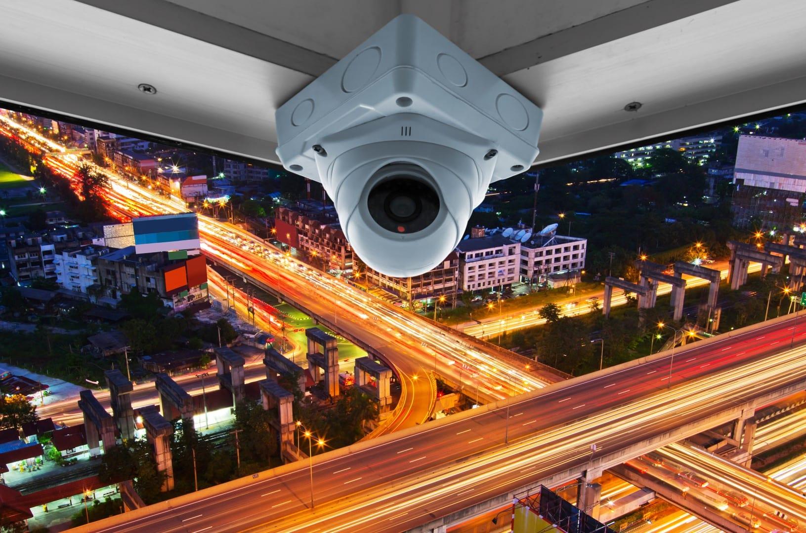 IP CCTV installed