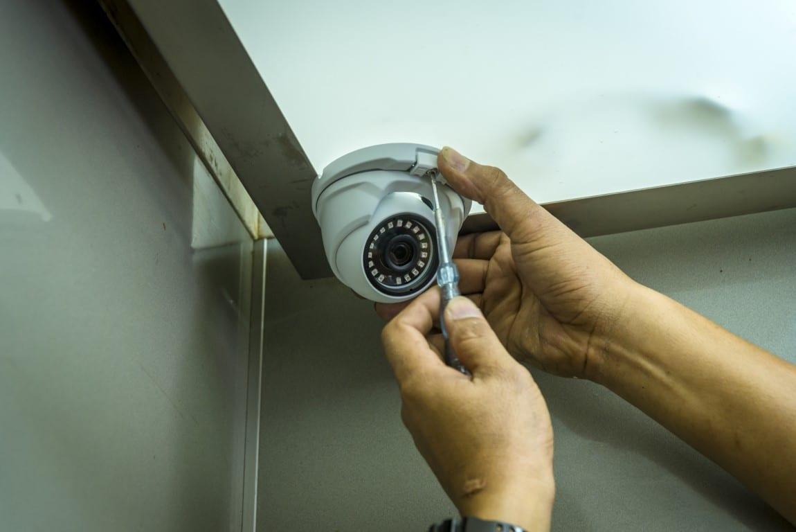 Installation of CCTV camera