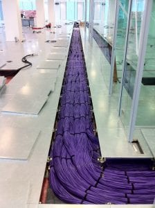 3,400,320 foot of CAT6 cabling