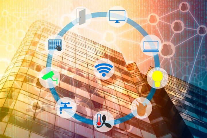 Smart-building-devices-connected
